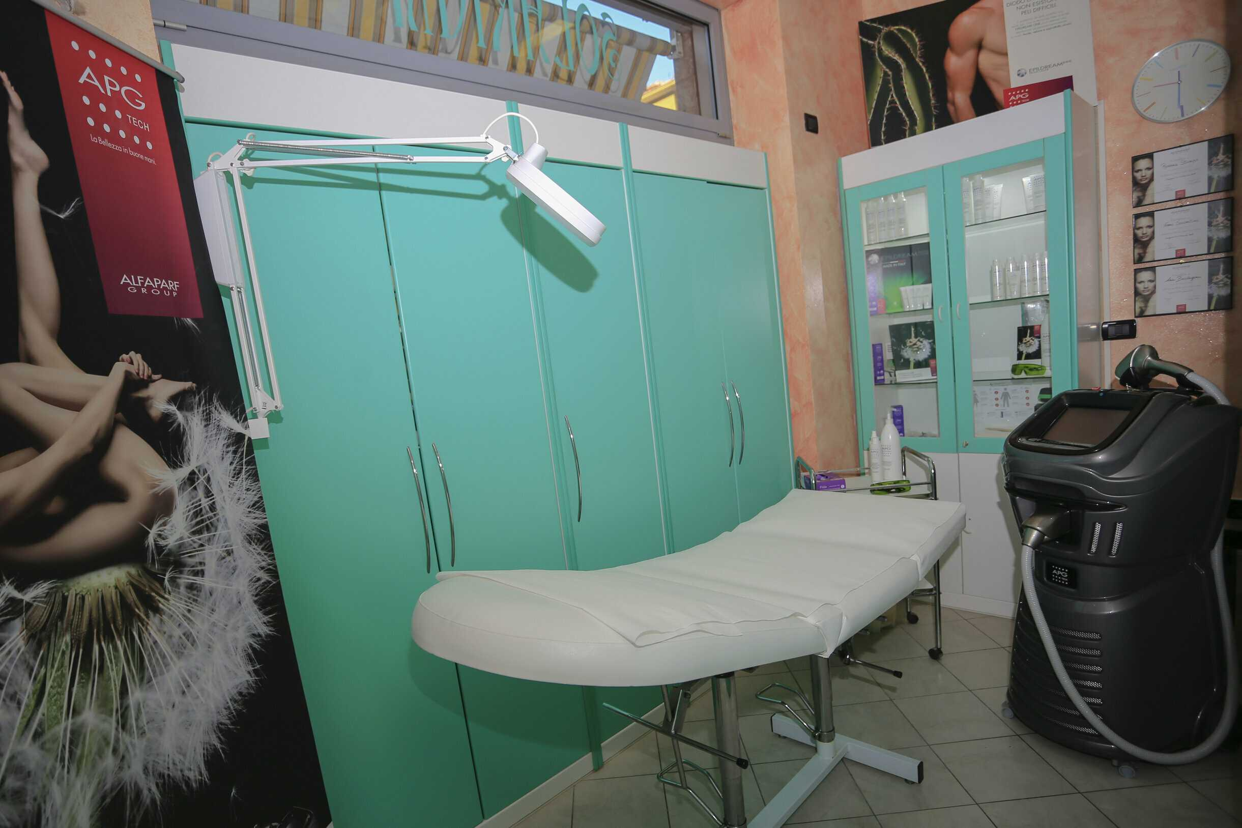 Sala trattamenti - Centro Estetico Rossana