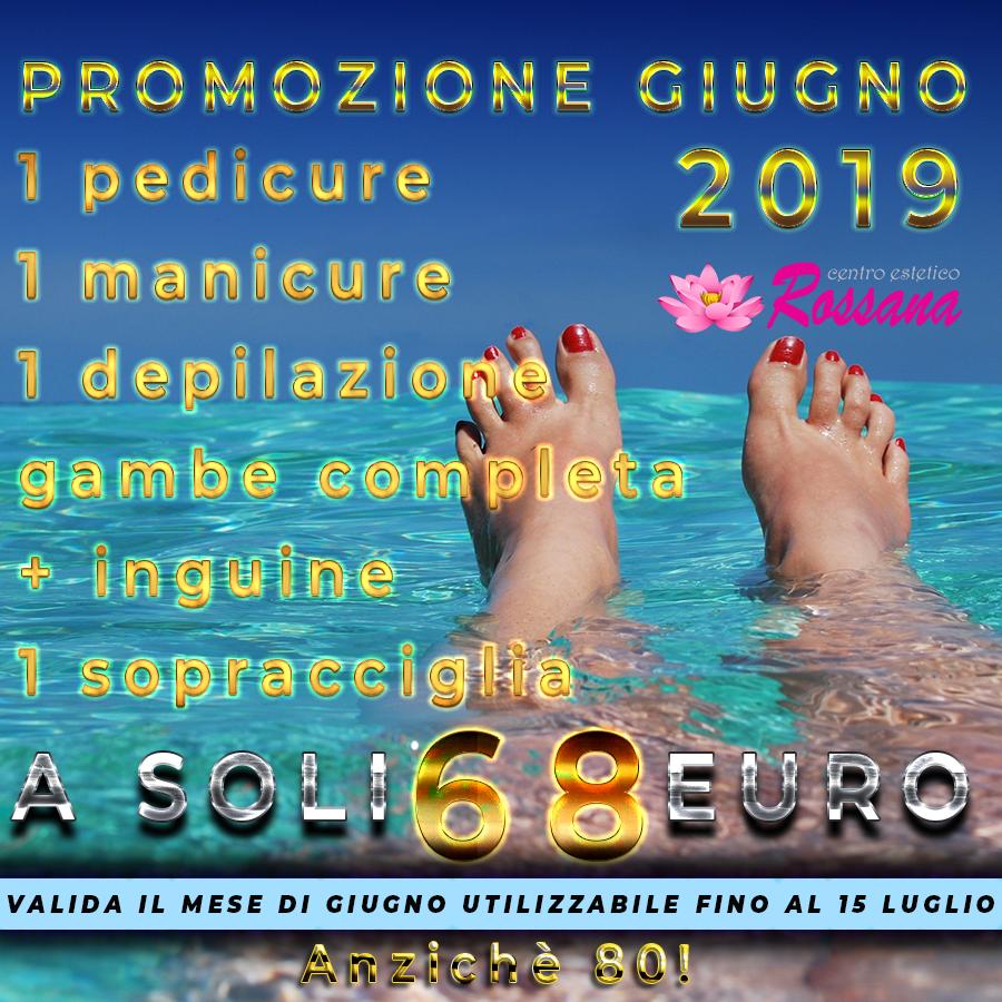 Promozione manicure-pedicure Centro Estetico Rossana